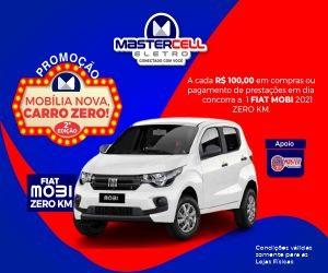MASTER CELL ELETRO - CAMPANHA SORTEIO CARRO - AGOSTO/2021 300*250