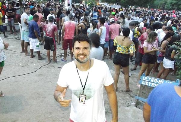 Tradicional MELA MELA do carnaval de Água Branca