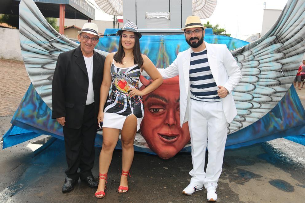 Carnaval 2019 em Água Branca - Escola de Sambra Anjos Negros