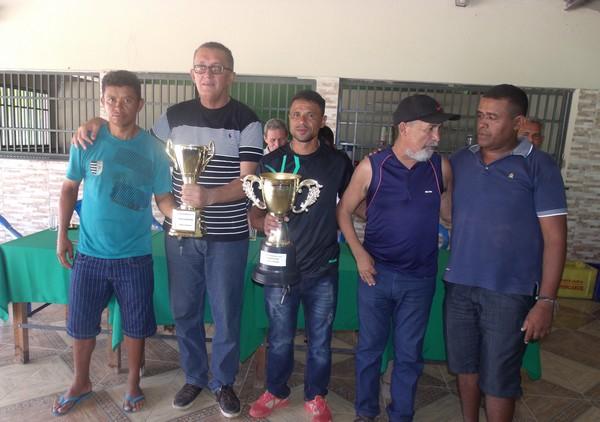 DEMP cassa o título da seleção de Demerval Lobão da V Copa dos Quarentões do Médio Parnaíba