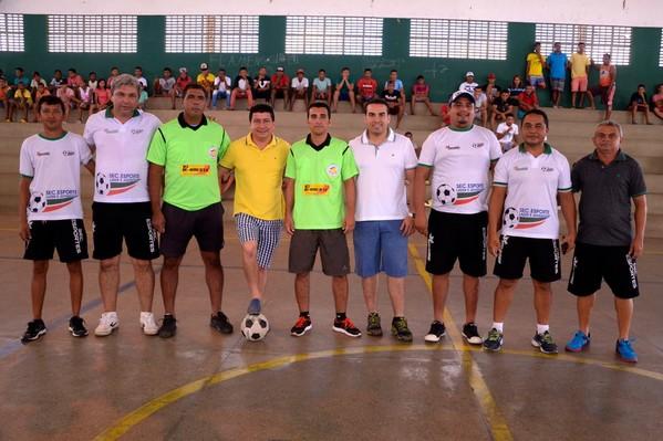 Secretaria municipal de Esportes de Água Branca promove campeonato de futsal sub-15