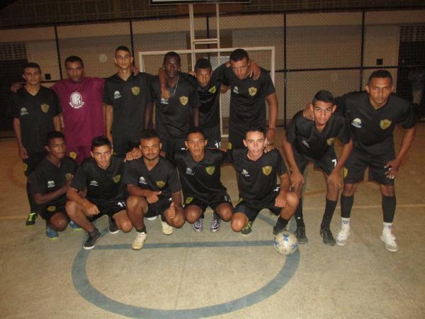 Cerimônia de abertura do campeonato de Futsal aconteceu no último final de semana em Agricolândia