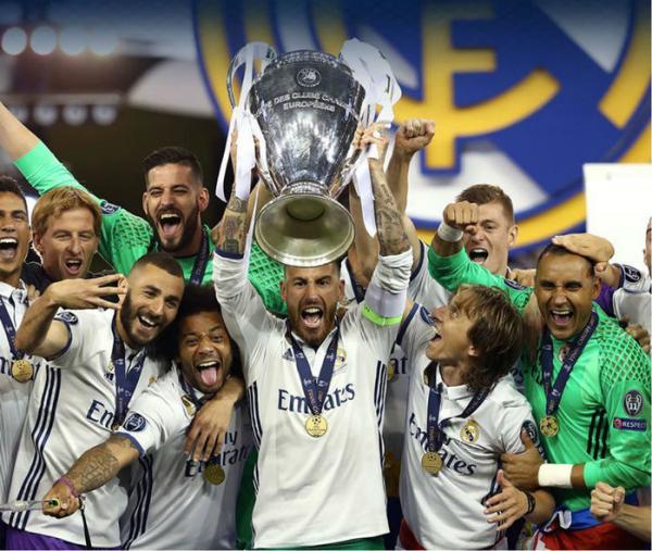 Real Madrid goleia a Juventus e conquista a Champions League