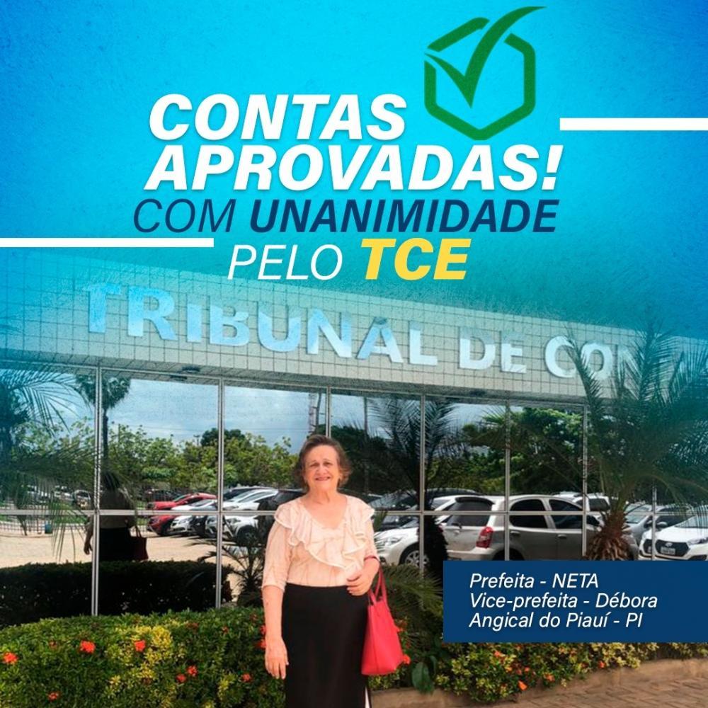 Angical do Piauí | Prefeita Neta Santos tem contas aprovadas pelo TCE