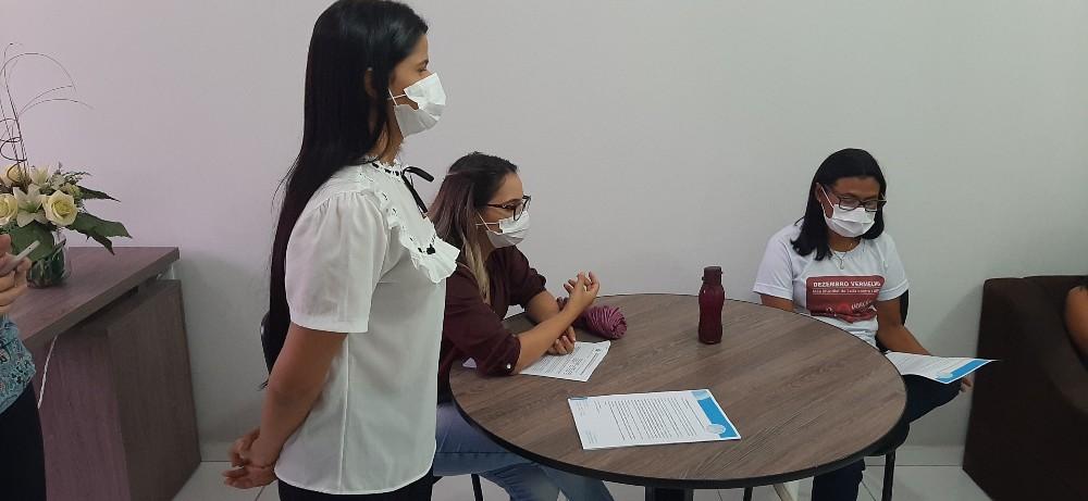 Coordenadores da Secretaria de Saúde de Valença do Piauí se reúnem