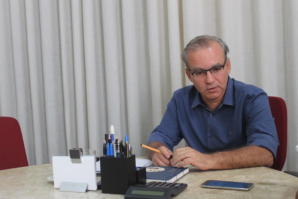Prefeito Firmino Filho. — Foto: Júnior Feitosa/G1 PI