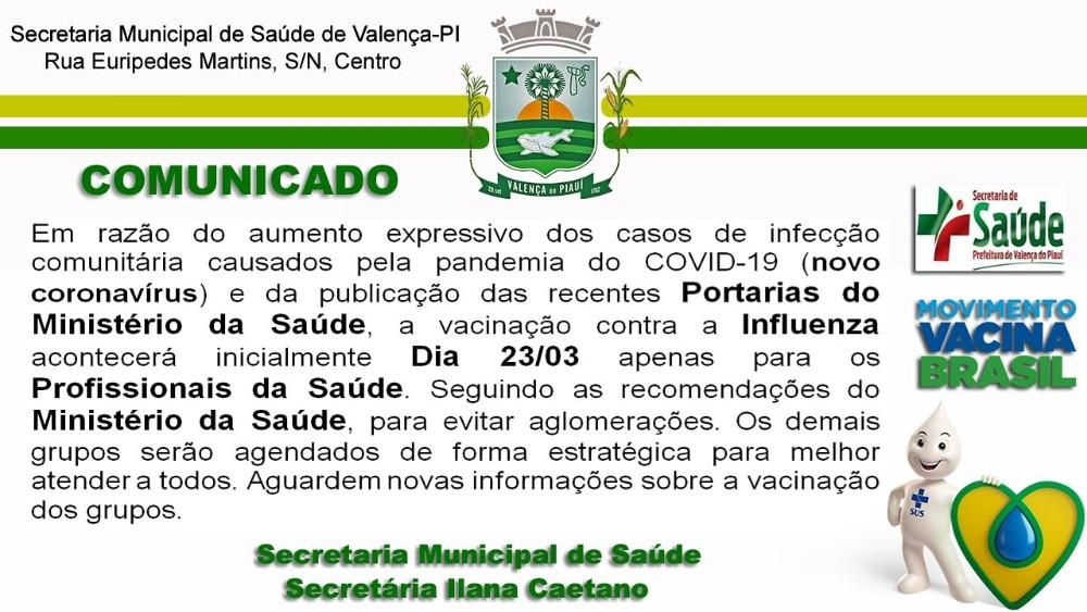 Campanha Influenza - Medidas Adotadas