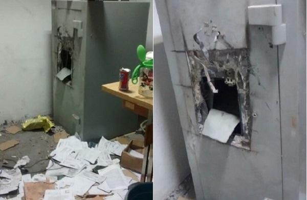 Banco do Brasil de Angical do Piauí é alvo de arrombamento durante a madrugada