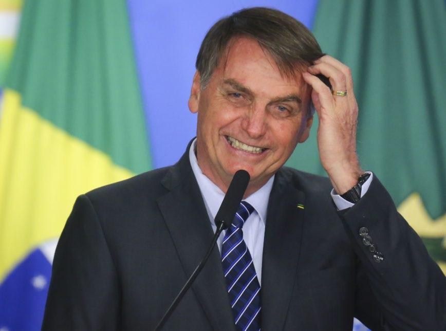 Presidente Bolsonaro (Imagem: Sérgio Lima/Poder360)