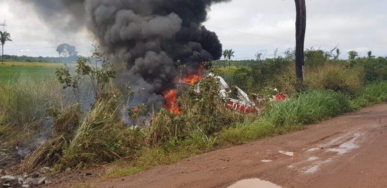 VÍDEO: Piloto morre após avião cair no interior do Maranhão