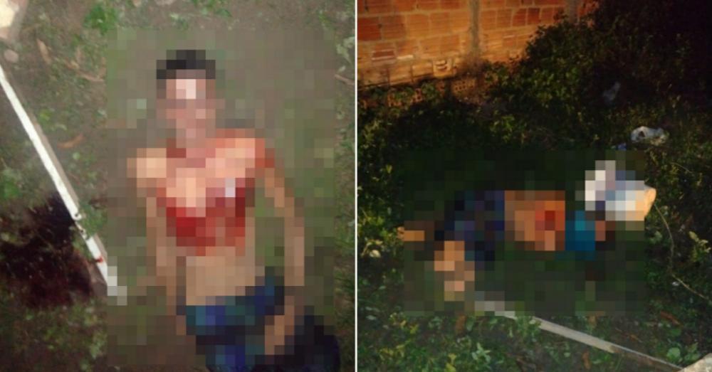 Jovem é morto a facadas e tem os olhos perfurados na zona Norte de Teresina