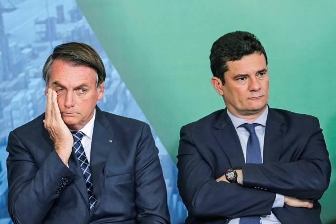 Embate entre o Presidente Jair Bolsonaro e o ex-ministro Sergio Moro