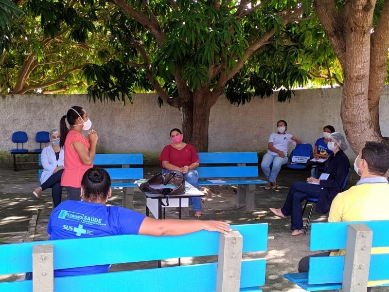 Secretaria de Saúde de Floriano organiza retomada de atividades