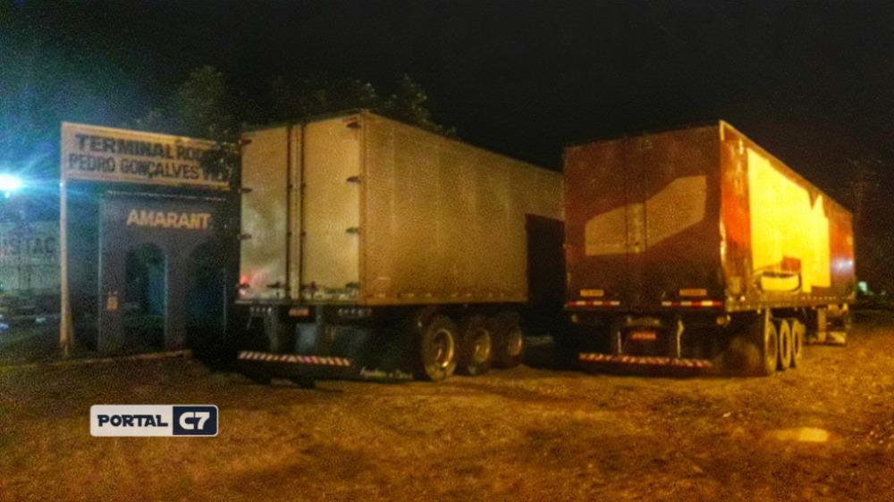 Motorista de caminhão passa mal e é levado para hospital regional de Amarante