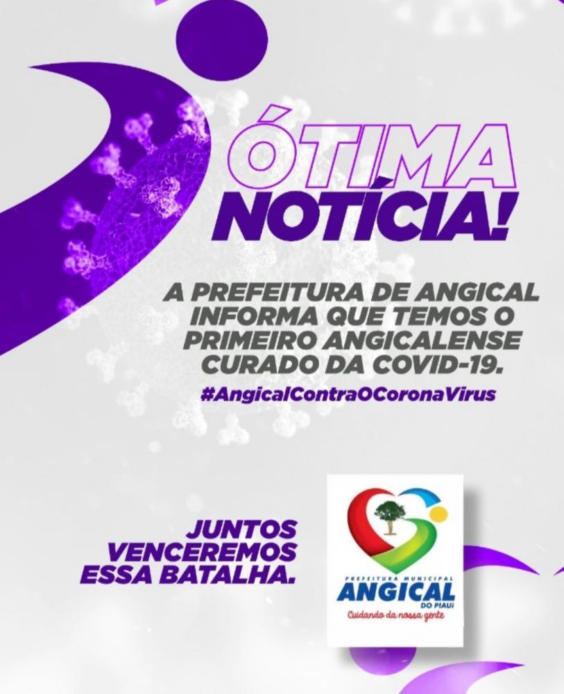 Prefeitura de Angical do PI confirma primeiro caso de cura de Covid-19 no município
