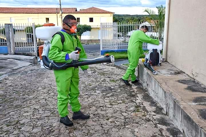 Prefeitura inicia desinfecção de Secretaria de Saúde, UBS's e setores públicos de Amarante