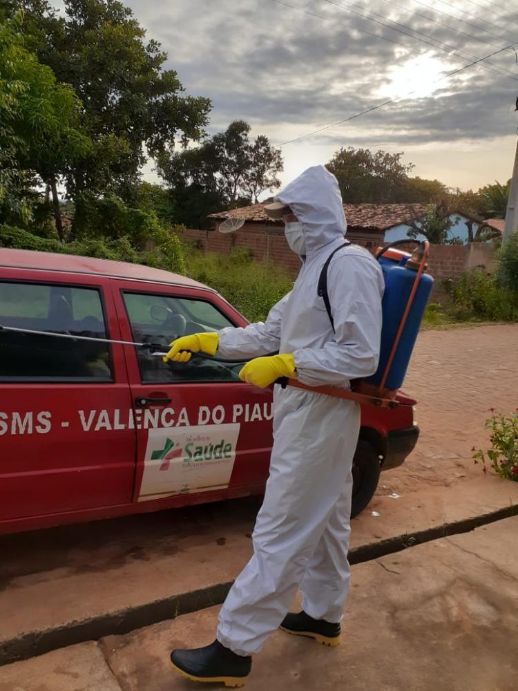 Valença do Piauí - Dedetização continuam sendo feitas em toda a Cidade