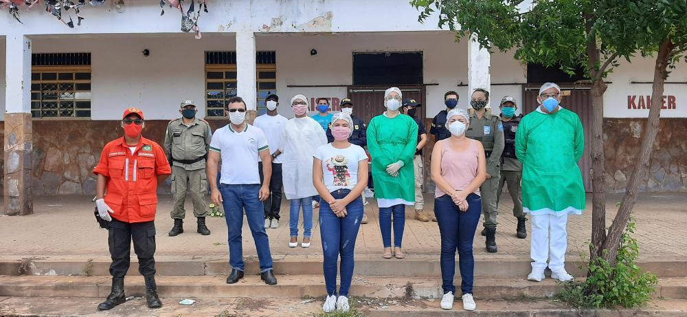 Valença do Piauí - Ações no Combate ao COVID-19 continuam sendo realizadas