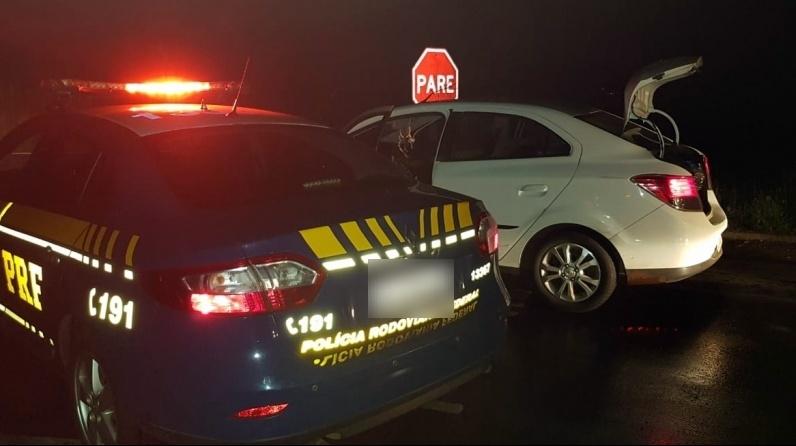 PRF prende na BR 316 condutor alcoolizado por direção perigosa e desobediência
