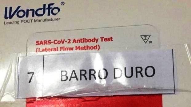Barro Duro recebe testes rápidos para Covid-19
