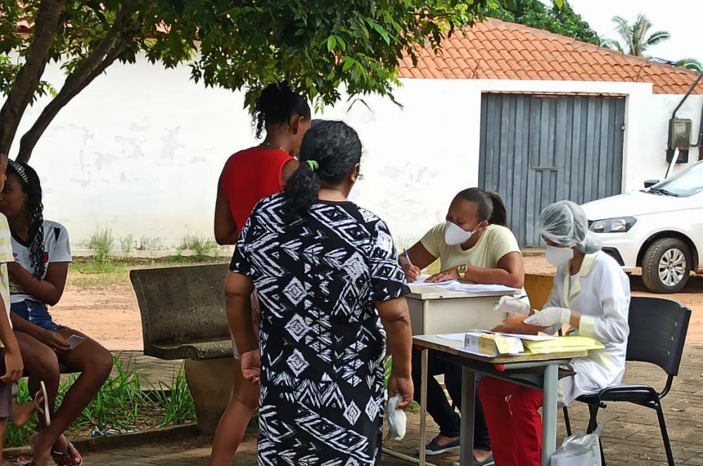 Vacina: Barro Duro continua com a campanha de vacinação contra a influenza