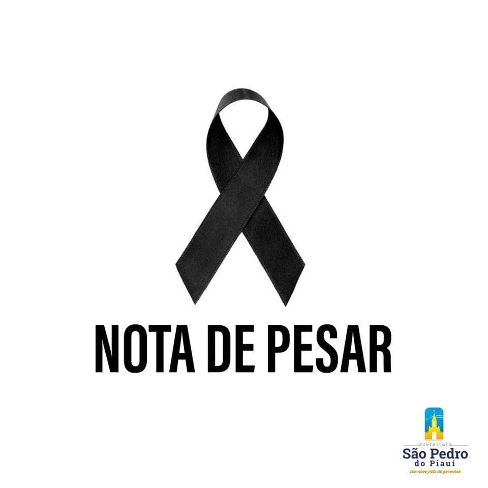 Prefeitura de São Pedro do PI emite nota de pesar pelo falecimento do servidor do hospital do município