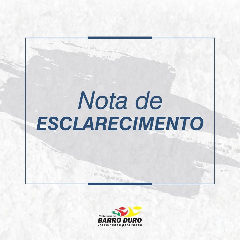 Prefeitura de Barro Duro nega existência de caso de covid-19 no município; veja nota