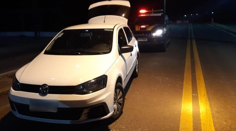 PRF recupera veículo e prende condutor por apropriação indébita na BR 343