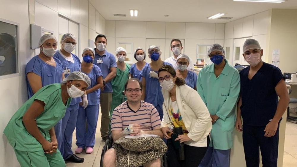Diretor do Hospital Natan Portela se recupera da Covid-19 e recebe alta em Teresina