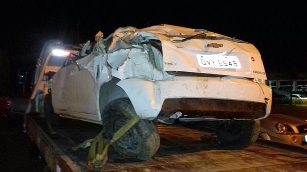 Hugonapoleonenses sofrem acidente na BR 135 'rodovia da morte' ao retornarem de Brasília próximo a Bom Jesus