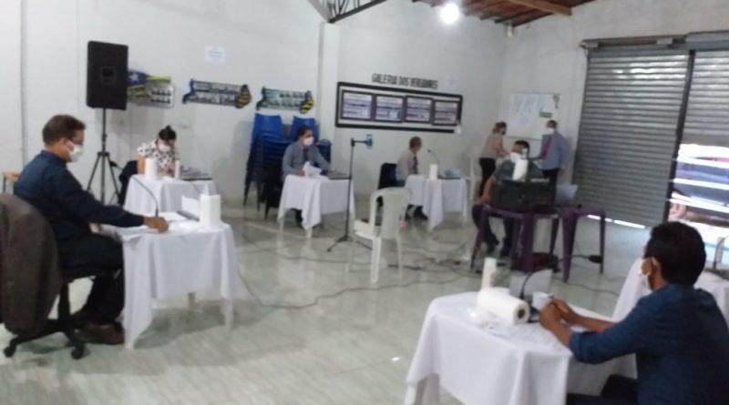 Câmara de Vereadores de Lagoa do Sítio realizará sessão nessa sexta 05/06, fechada ao público
