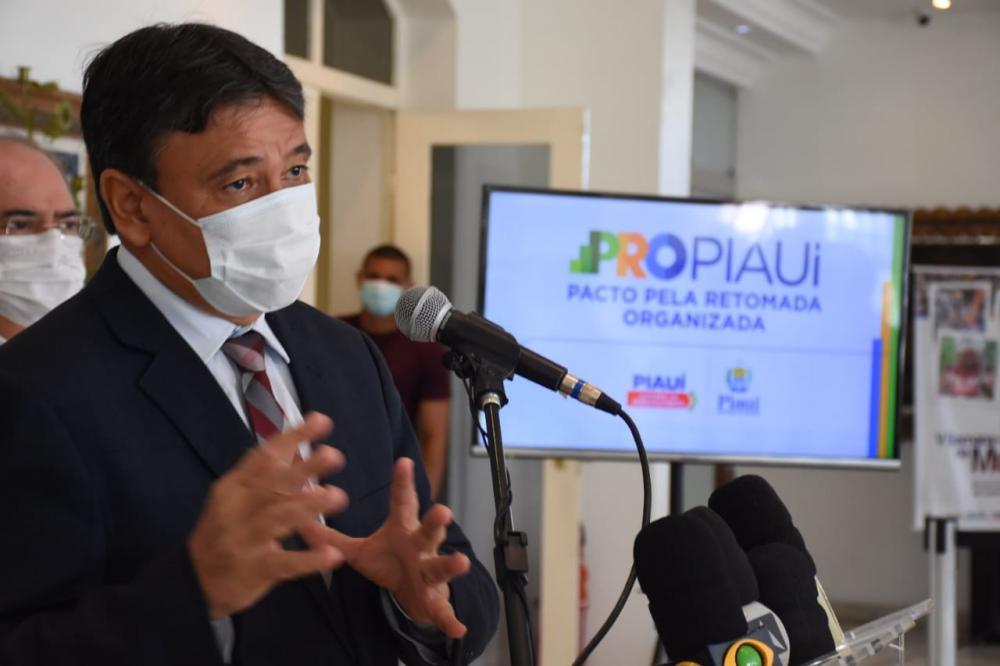 Wellington Dias anuncia processo de retomada para três setores da economia