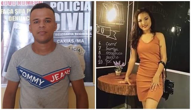 Homem que matou mulher em Teresina na frente da filha é preso no Maranhão