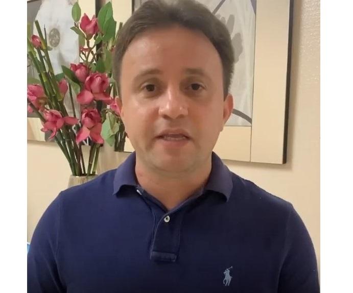 Prefeito Júnior Bill faz apelo à população após crescimento da curva de contágio da covid-19 no município