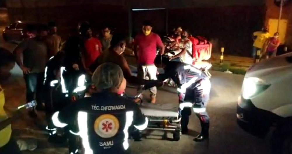 Entregador de delivery é baleado durante assalto na zona leste de Teresina