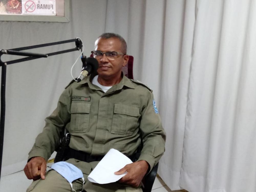 Comandante Antônio Santos é promovido por merecimento a patente de Major da Policia Militar