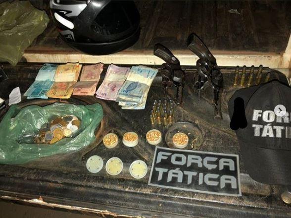 Assaltantes são presos pela Força Tática de Piripiri e PM do Ceará