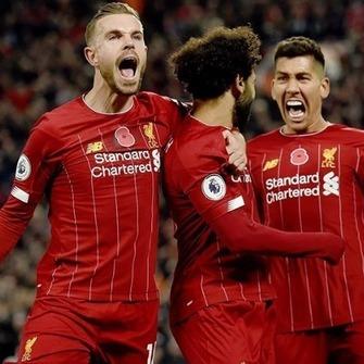 Liverpool comemora seu 19º título do campeonato inglês