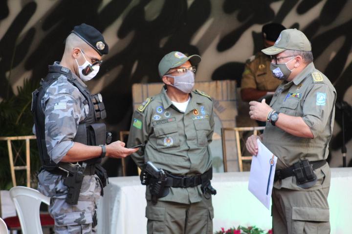 Companhia de polícia de Valença tem novo Comandante