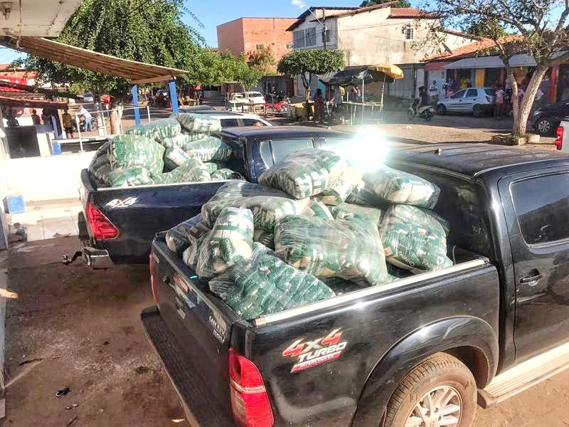 Pai e filho comerciantes são presos com carga roubada em Timon no Maranhão