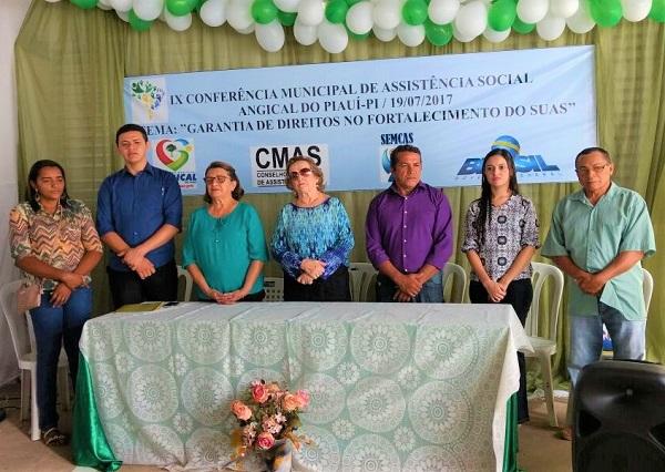 IX Conferência Municipal de Assistência Social é realizada no município de Angical do Piauí