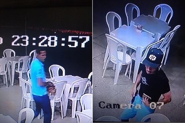 Bandidos armados promovem verdadeiro arrastão na churrascaria Santos Grill em Água Branca