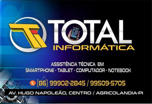 Total Informática e Assistência Técnica agora em Agricolândia