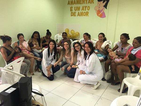 Secretaria de Saúde desenvolve ação de incentivo ao aleitamento materno em São Gonçalo do Piauí