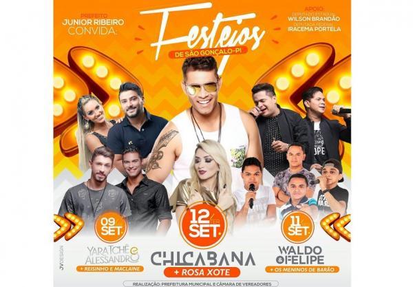Chicabana, Yara Tchê e outras atrações estão confirmadas para o festejo de São Gonçalo; veja programação