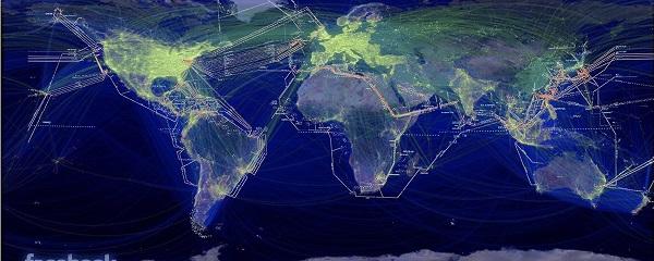 """Facebook realiza mapeamento de 23 países para criação de uma """"Internet Mundial"""""""