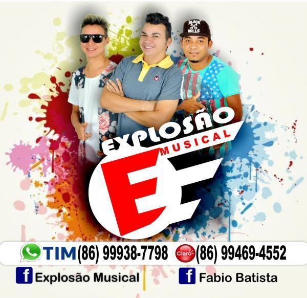 Confira a agenda oficial da banda Explosão Musical para o mês de setembro