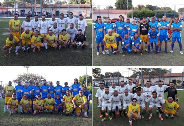 Quadrangular de futebol reúne autoridades e amigos do prefeito em São Gonçalo do Piauí