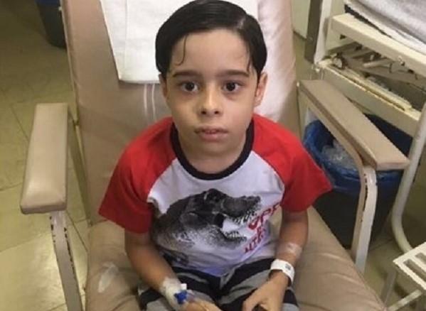 Família de Várzea Grande (PI) pede doação de sangue para criança com leucemia