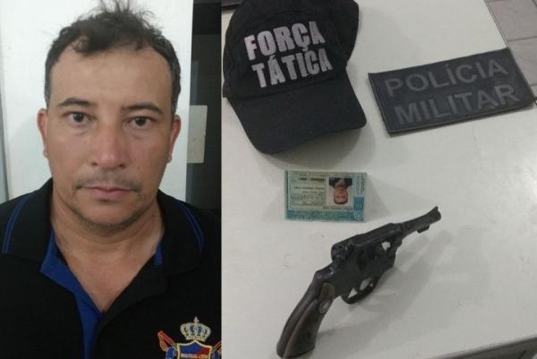 Suspeito de roubo de Corola em Floriano é preso pela Força Tática em Amarante
